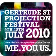 gertrude street projection festival 2010